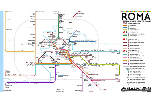 The public transport system in Rome - Principal Relocation